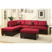 3-Pcs Sectional Set F7601