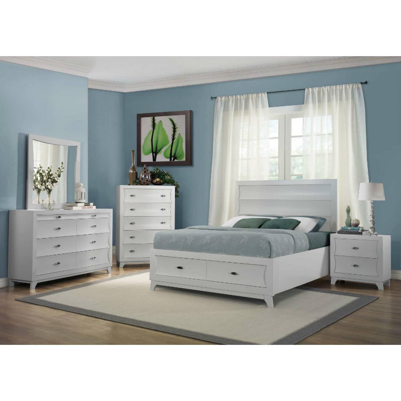 Zandra Bedroom California King Platform Bed With Footboard