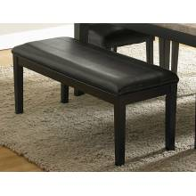 Cristo Bench - Dark Brown Bi-Cast Vinyl