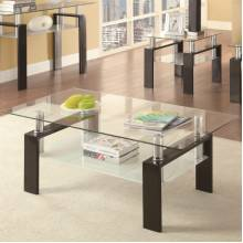 Occasional Group 702280 Tempered Glass Coffee Table