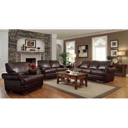 3 Pc Colton Traditional Styled Living Room Sofa , Love Seat and Chair