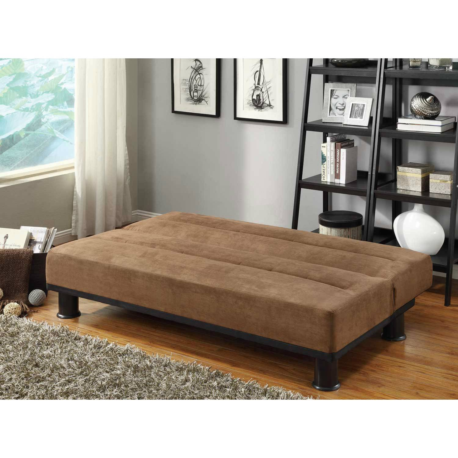 click clack sofas click clack sofa bed brown microfiber. Black Bedroom Furniture Sets. Home Design Ideas