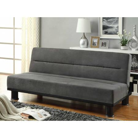 Callie Click-Clack Sofa Bed - Graphite - Grey Microfiber 4823GP