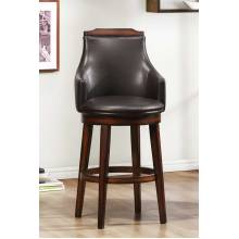 Bayshore Swivel Pub Chair - Medium Walnut - Vinyl 5447-29S