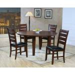 Ameillia Round Dining Collection 5pc set (TABLE+ 4 SIDE CHAIRS