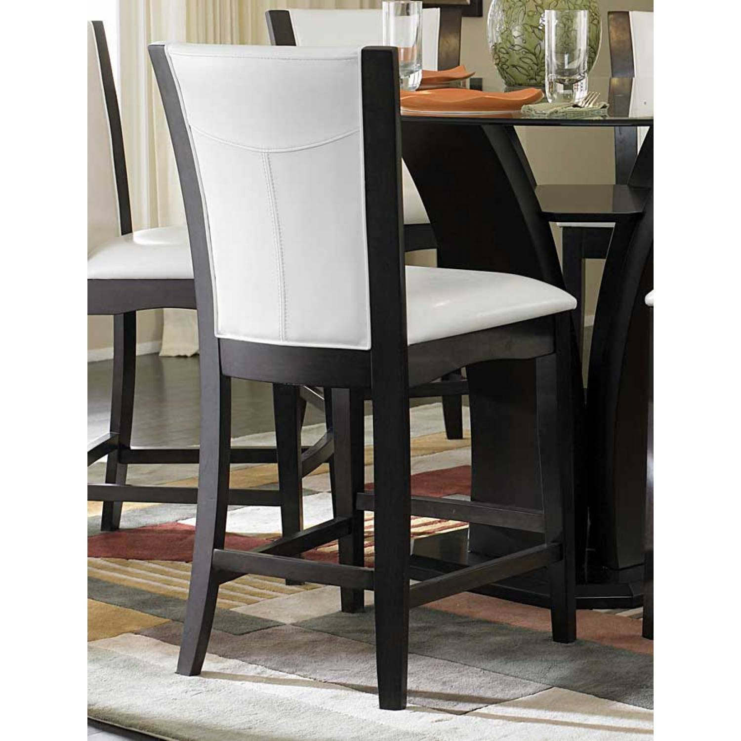 top counter height dining set 5pc set table 4 counter height chairs