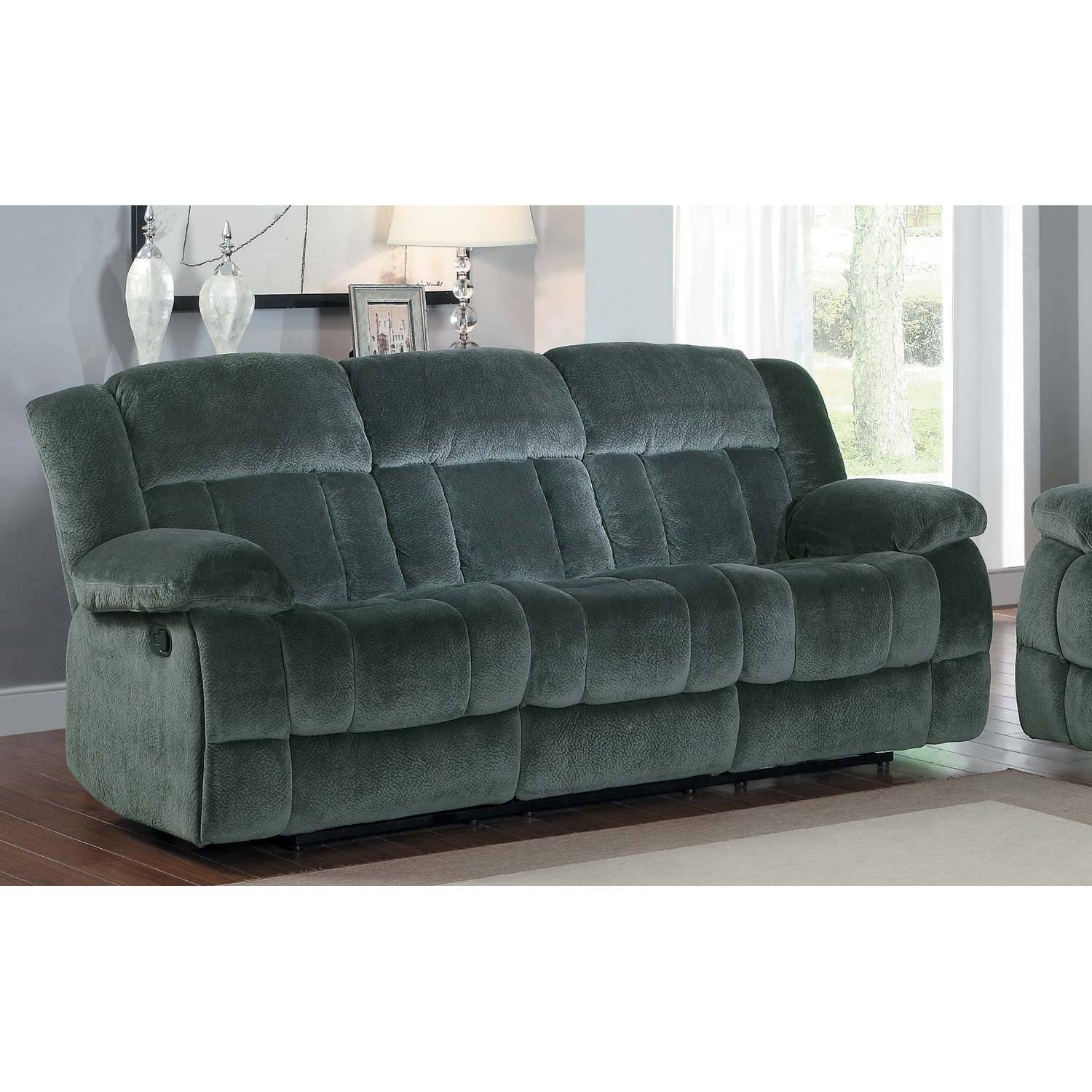 Gray Microfiber Reclining Sofa Ashley Furniture Couches
