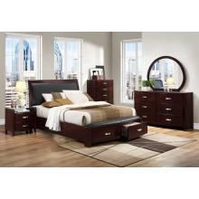 Lyric Platform Bedroom Set 5pc set(QB+NS+DR+MR+CH)