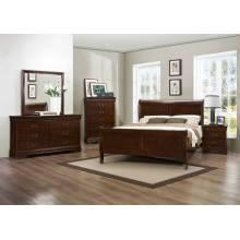 Mayville Bedroom set 4pc set (QB+NS+DR+MR