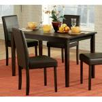 Dover Dining Set 5pc set (TABLE + 4 SIDE CHAIRS)
