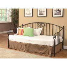 Daybeds by Coaster Casual Dark Bronze Metal Daybed