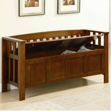Benches Wood Storage Bench