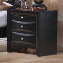 Briana 2 Drawer Nightstand with Tray