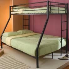 Denley Metal Twin over Full Bunk Bed