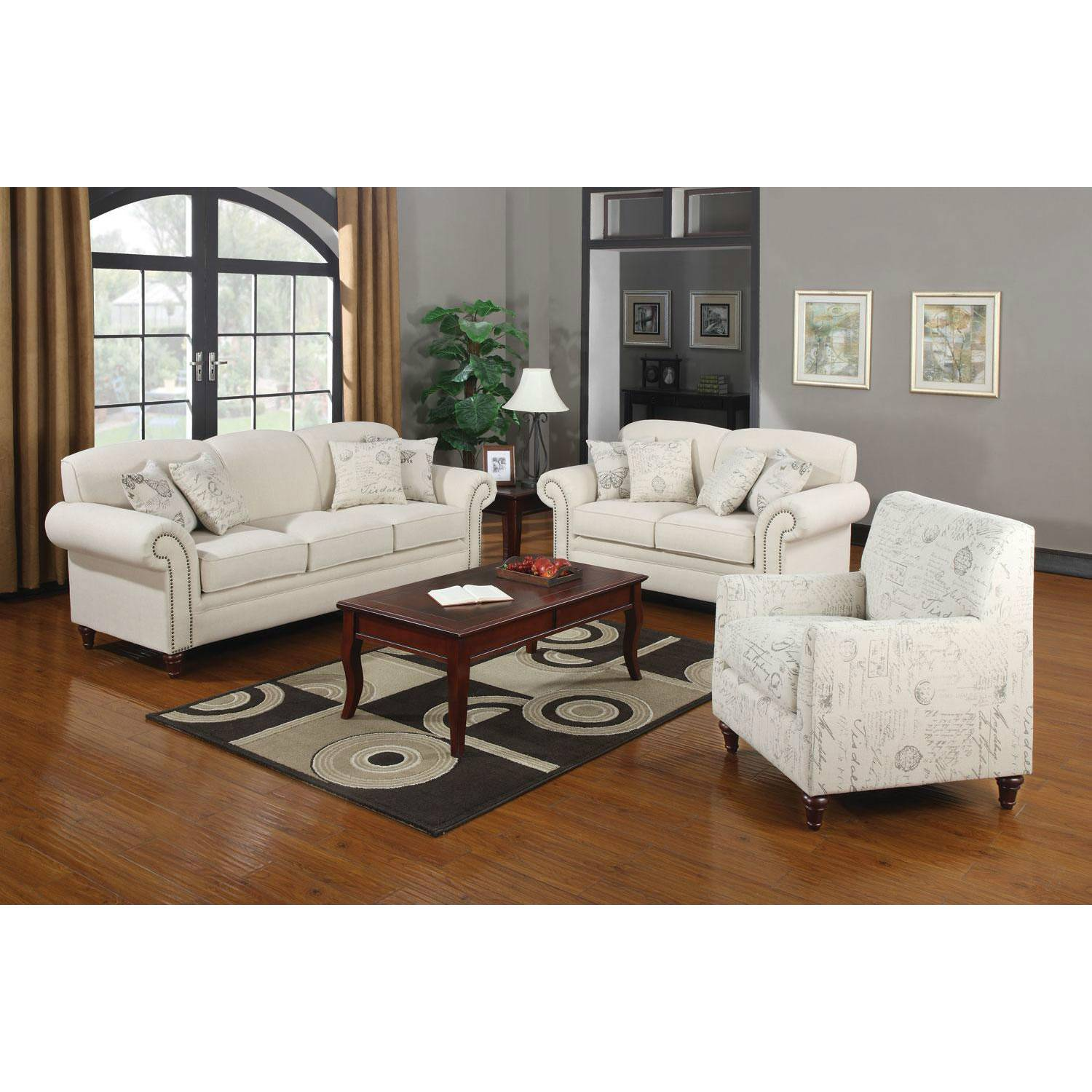 Pc Norah Traditional Sofa Love Seat