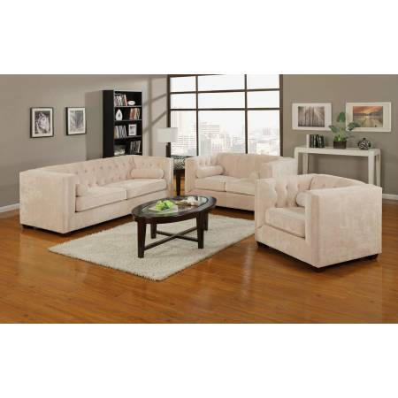 2 Pc Alexis Transitional Sofa , Love Seat
